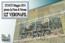 L'IPZS al 122° Veronafil con il Foglietto Erinnofilo e le prime emissioni dell'anno